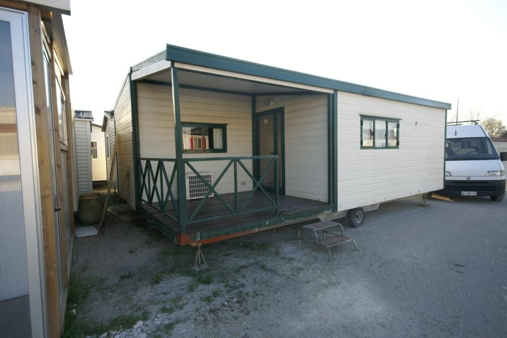 Casa mobile doppia icb 7 50x5 00 4springs case mobili for Casetta prefabbricata su ruote