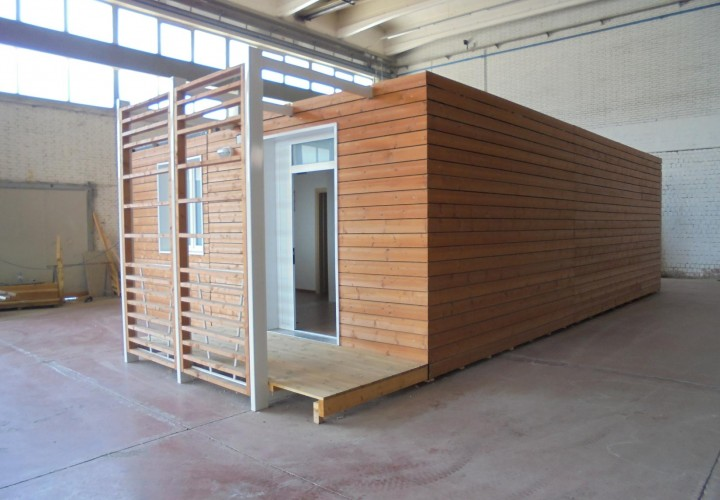 SHELBOX PREFAB HOME 9,80x6,70 MQ