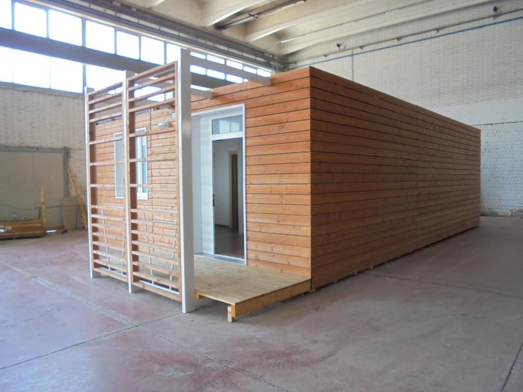 Casa prefabbricata in legno shelbox 9 80x6 70 mq - Case in legno mobili ...