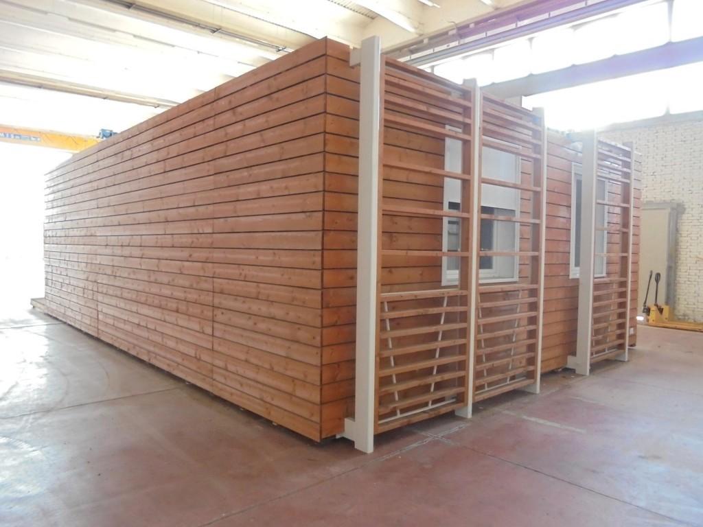 Casa prefabbricata in legno shelbox 9 80x6 70 mq for Casa in legno prefabbricata
