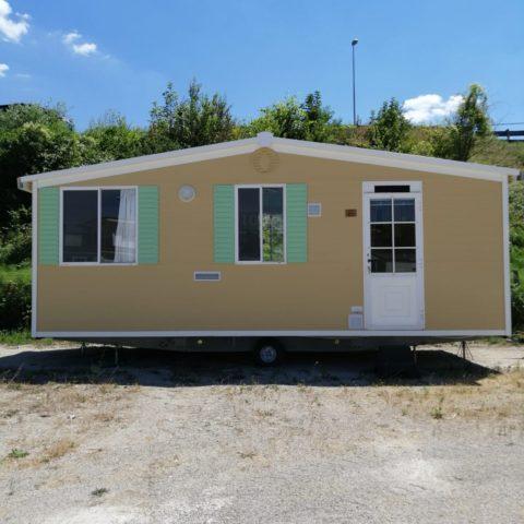 Casa mobile usata Shelbox Garda Sun 6,60x3