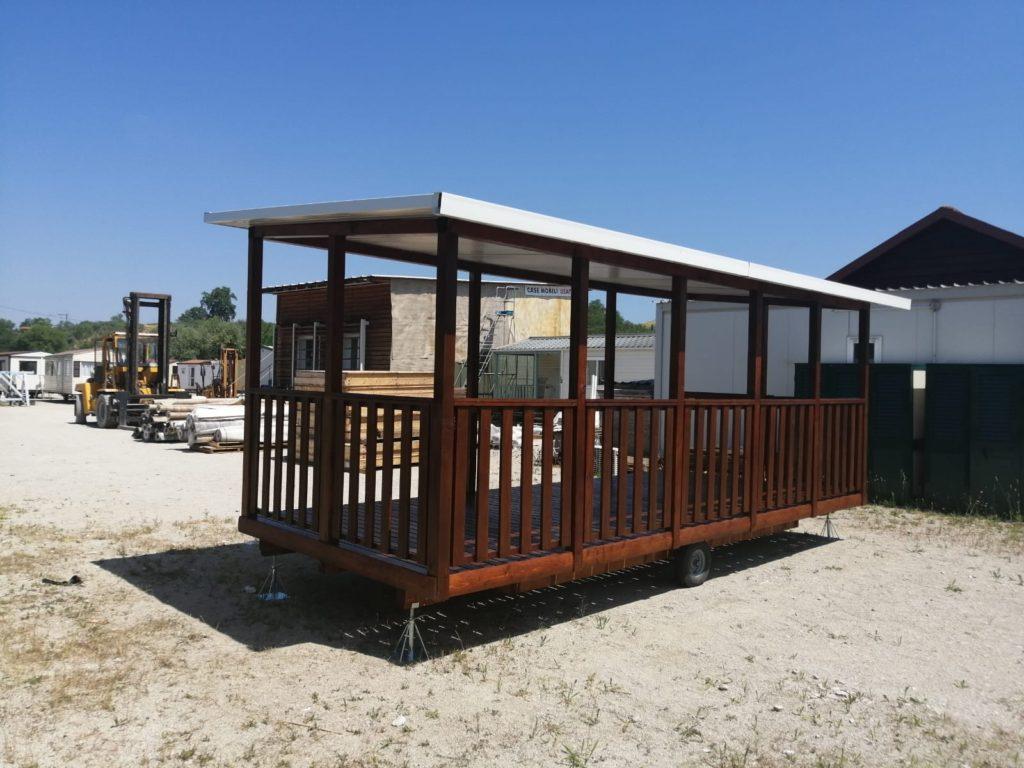 Veranda su ruote in legno 4springs case mobili for Case in legno su ruote su terreno agricolo