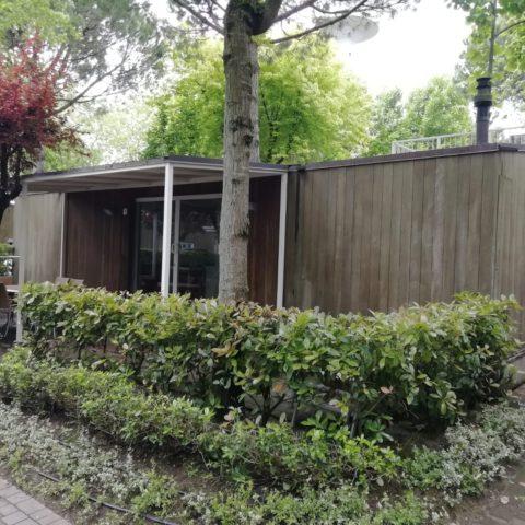 Casa Mobile in legno usata