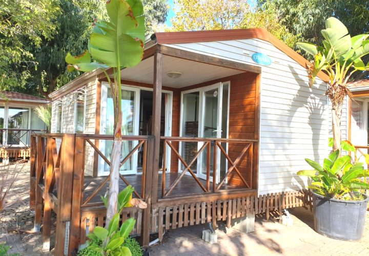 Casa mobile usata O'Hara con veranda integrata