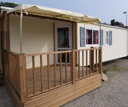 Casa su ruote Sun Roller 800x300 con terrazzo integrato